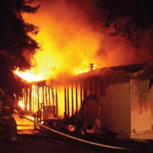 Murrysville Trailer Fire