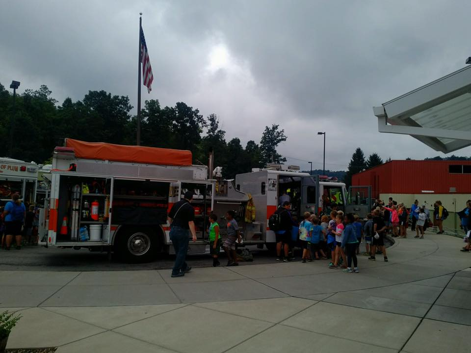 YMCA Camp Fire Prevention Day Visit