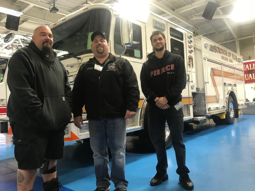 236-Engine Final Inspection: Enginner Franitti, Chairman Reynolds, & Assistant Chief Usher
