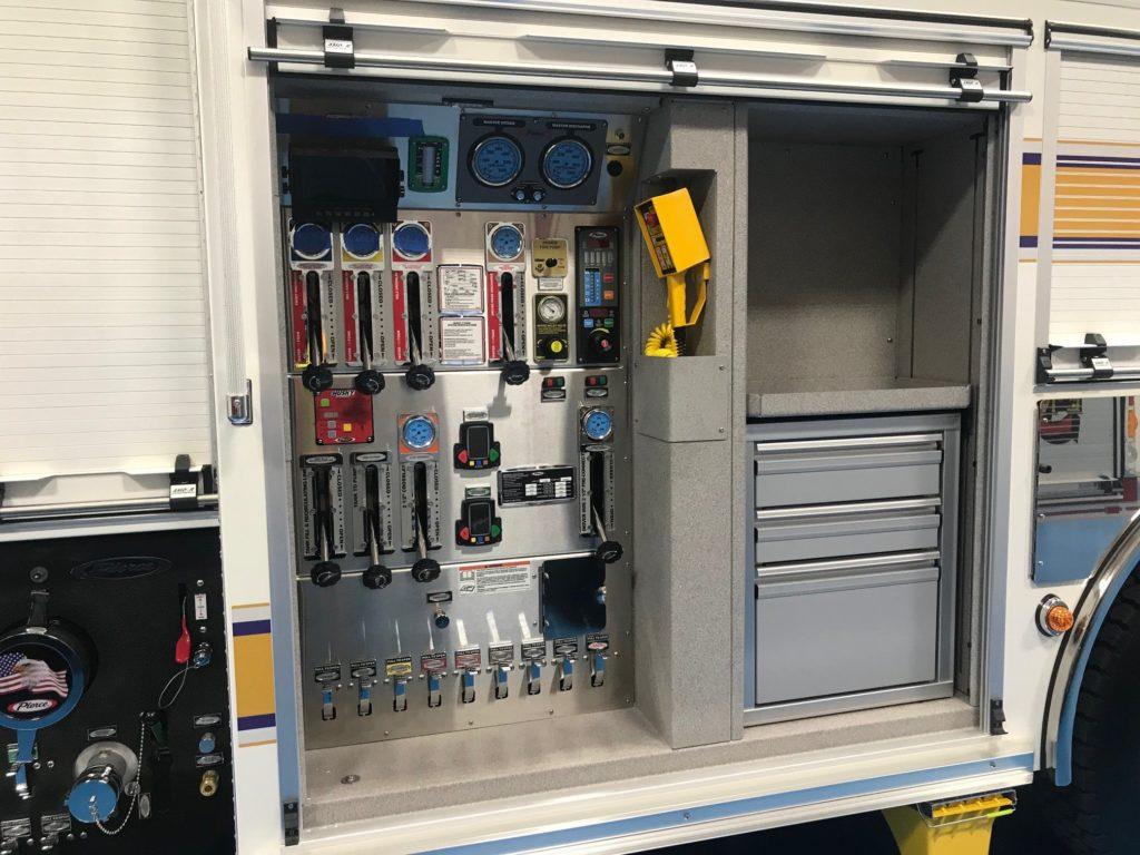 236-Engine Final Inspection: Pump Control Panel